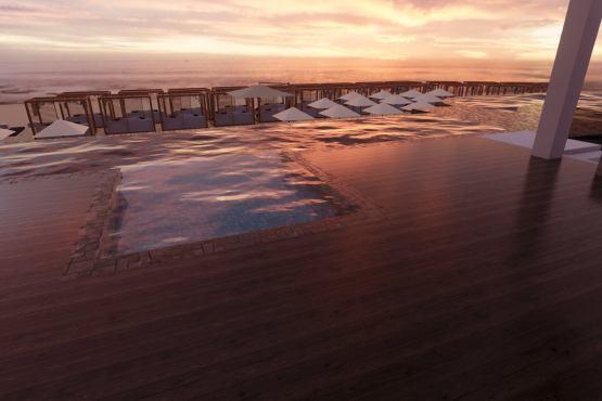 Desain Resort