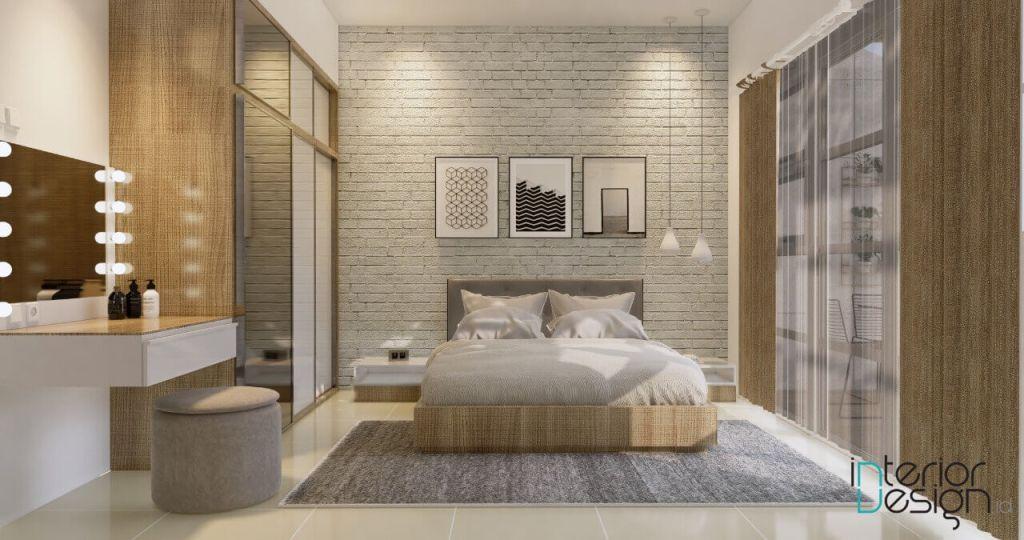 Tekstur pada kamar tidur