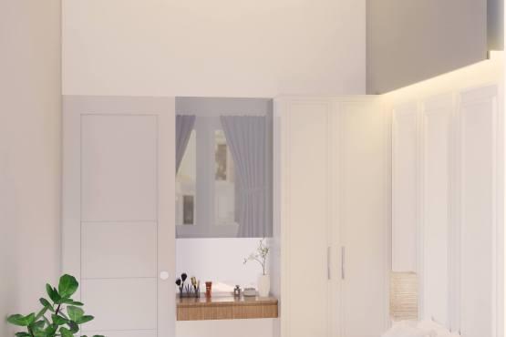 Kamar tidur rumah klasik modern minimalis