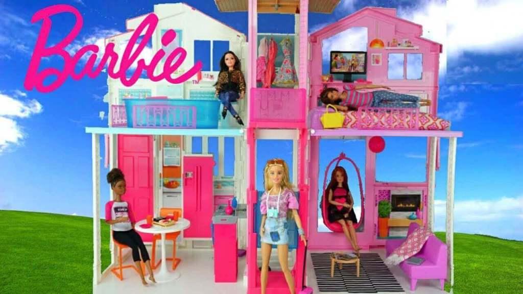 dekorasi rumah barbie