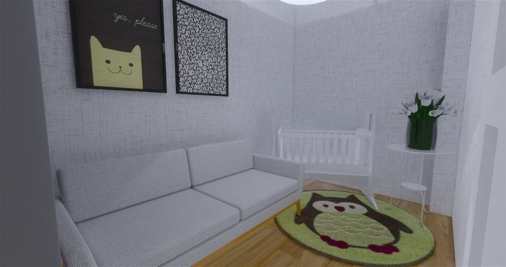 Desain interior nursery room