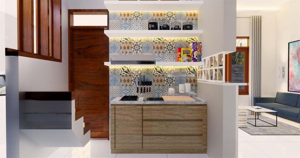 desain dapur gaya modern dan natural