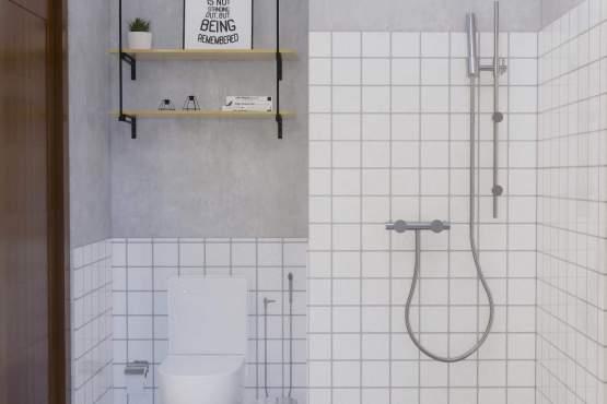 interior desain kamar mandi modern minimalis