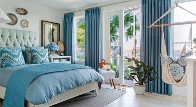 dekorasi kamar tidur gaya nautical