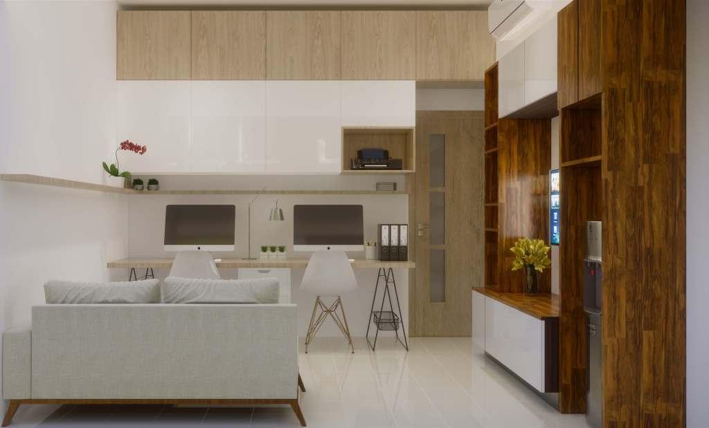 interior apartemen gaya modern