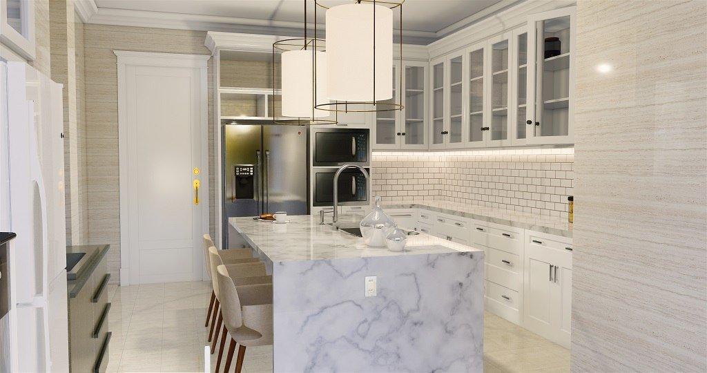 Desain interior rumah gaya klasik modern