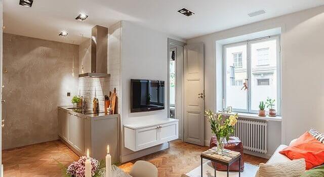 interior apartemen seperti rumah
