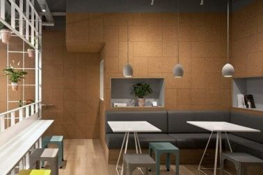 desain mini cafe