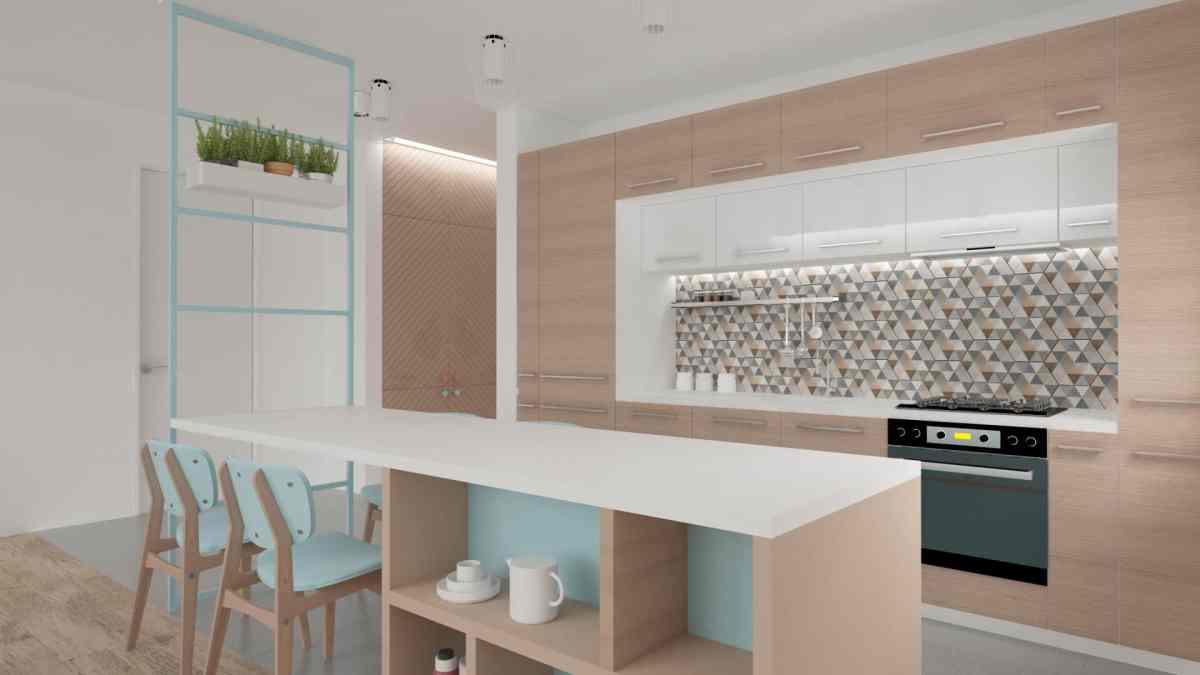 Vibrant modern apartment