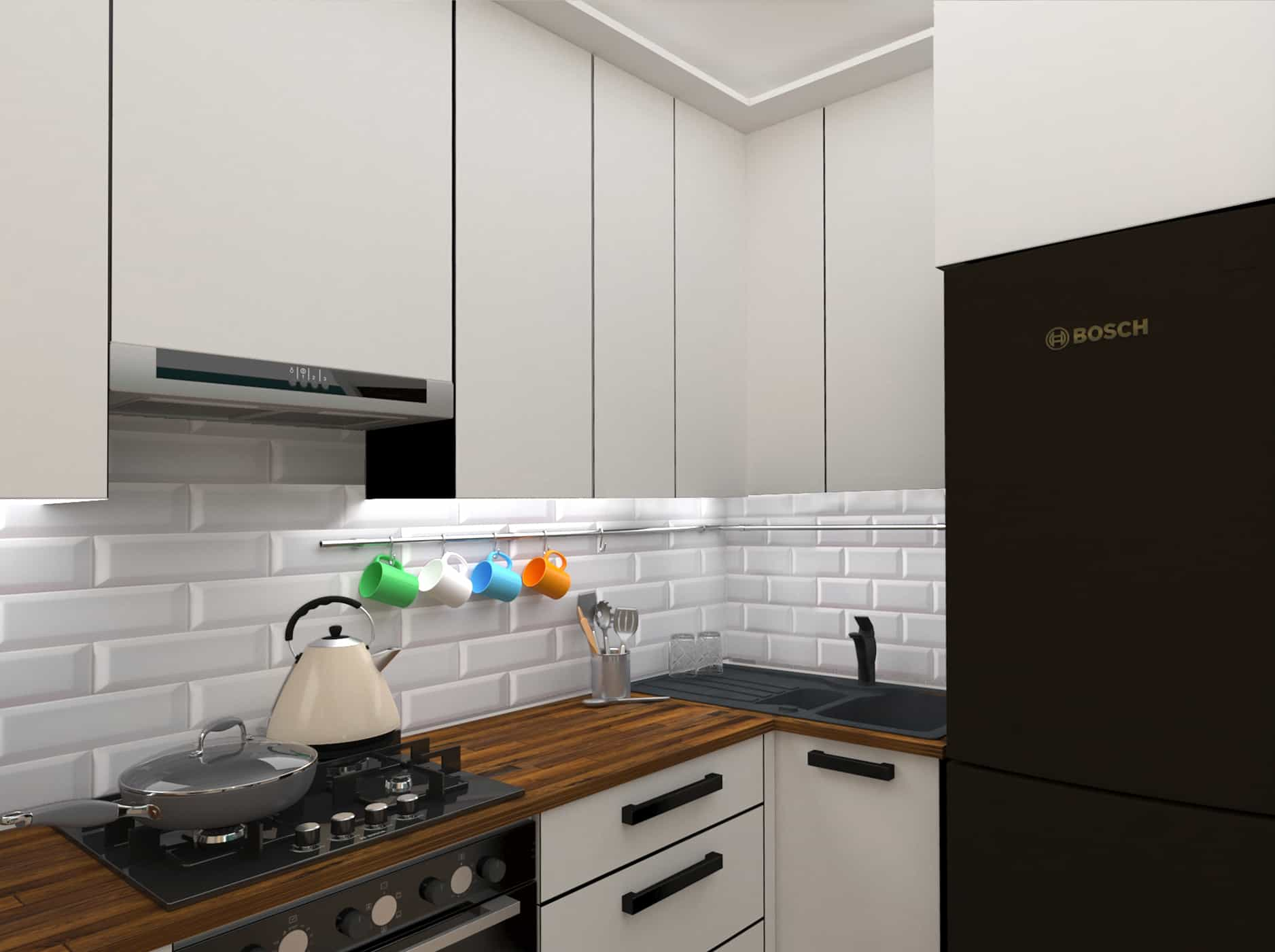 Little kitchen - Interior Designio