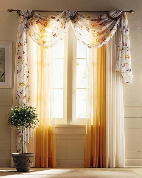 Beautiful Bedroom Curtains, Colors and Designs - Interior ... on Beautiful Bedroom Curtains  id=29227