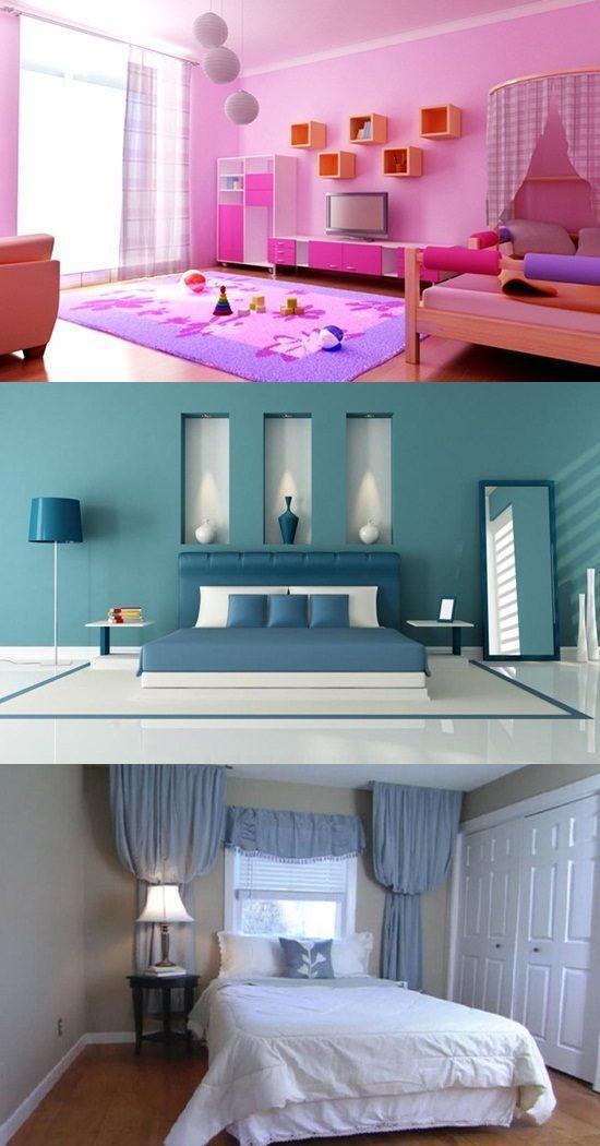 Bedroom Colors And Moods Walls Room Interior Design