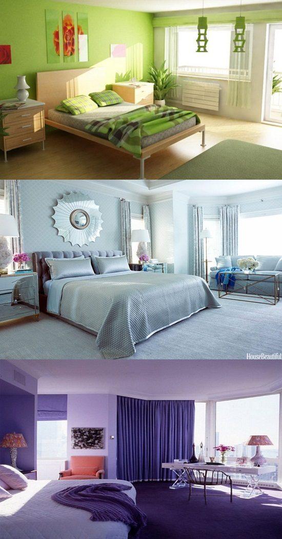 Trendy Bedroom Colors - Paint Colors - Interior design on Trendy Bedroom  id=43787