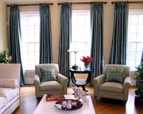 living room drapes and curtains - Interior design on Draping Curtains Ideas  id=94860