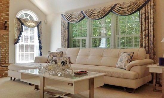 Living Room Window Treatment Ideas