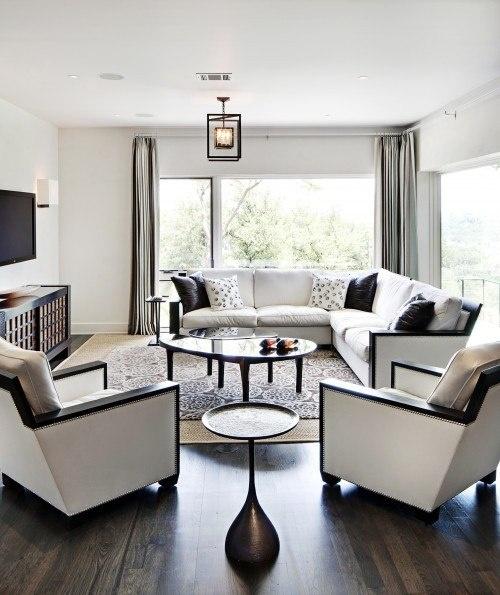 Black And White Living Room interior design ideas ...