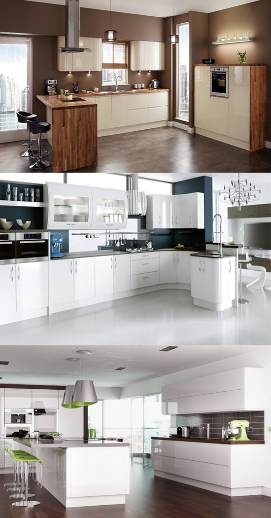 How To Create A High Gloss Kitchen Interior Design
