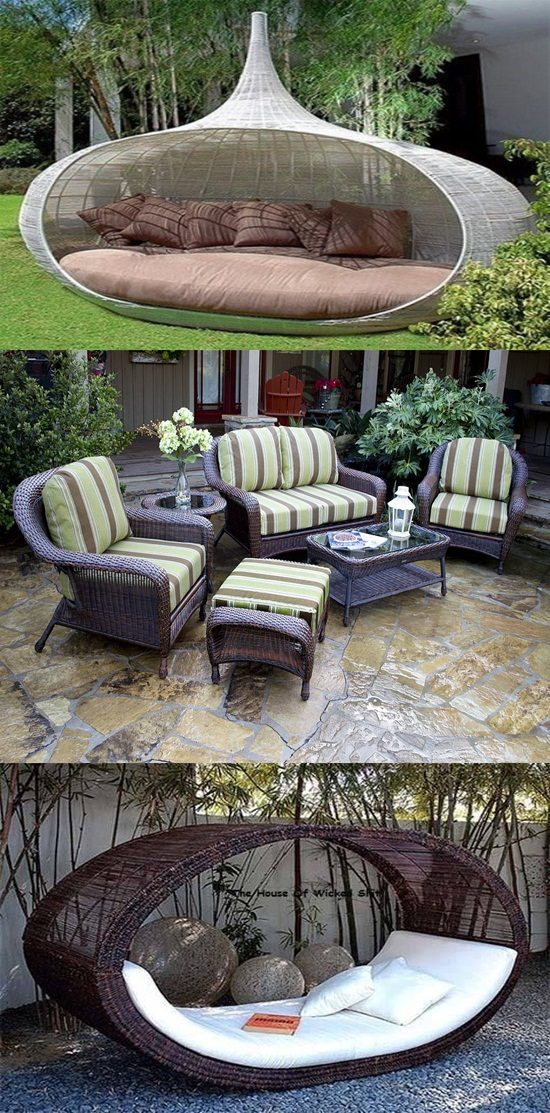 Outdoor Furniture And Backyard Wicker Furniture Interior