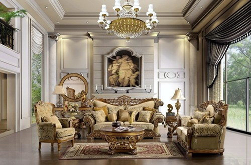 Styles Of English Renaissance Antique Furniture Interior