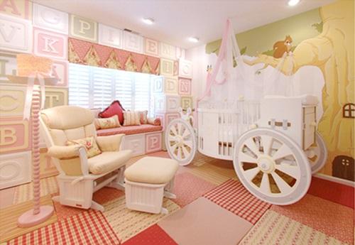 Camas de fantasía para niños - Carroza
