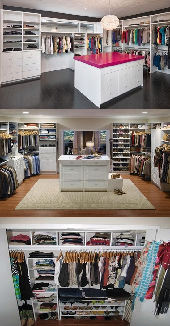 Smart And Practical Walk In Closet Design Ideas Interior