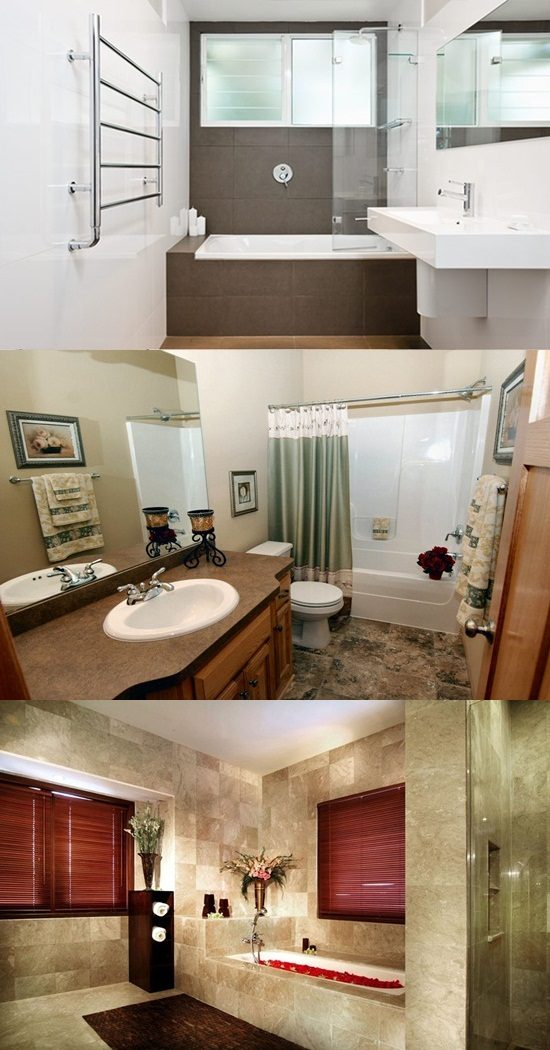 Creative Small Bathroom Makeover Ideas on Budget ... on Small Space Small Bathroom Ideas On A Budget id=21750