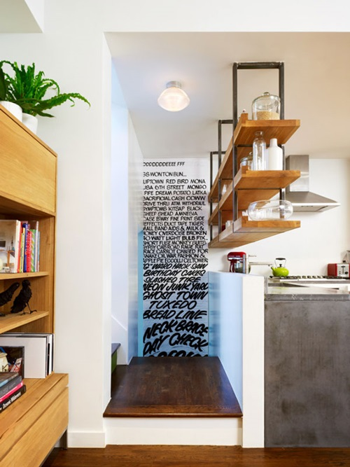 Creative Ways to Decorate a Blank White Wall - Interior design on Creative Wall  id=55967