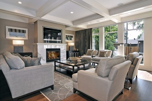Luxurious Modern And Traditional Living Room Design Ideas Part 33
