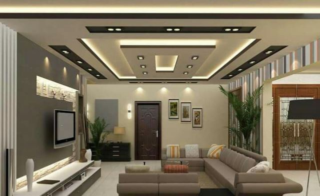 These ceilings will make your bedroom cozy and … 20 Cool Ceiling Design Ideas For Living Room In Your Home Interior Design And Decor Ideas