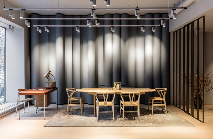 Carl Hansen & Son's flagship showroom is designed by Trigueiros Architecture