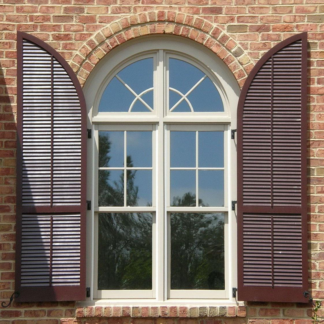 Arched Windows Houses