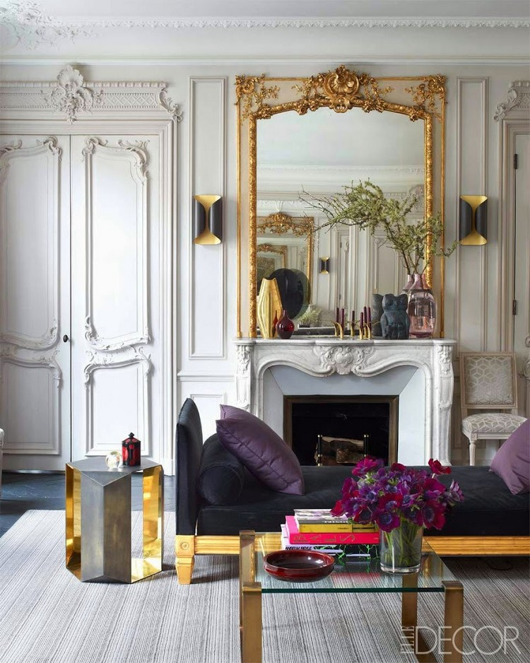 The best room decoration for your apartment in Paris ... on Best Sconces For Living Rooms Near Me id=54549