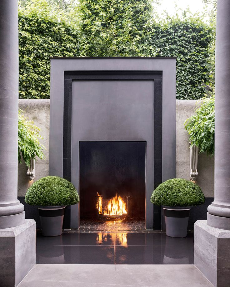 TOP 12 STUNNING FIREPLACES FOR LUXURY OUTDOOR LIVING ... on Fancy Outdoor Living id=80066