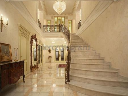холл в частном доме дизайн фото 7