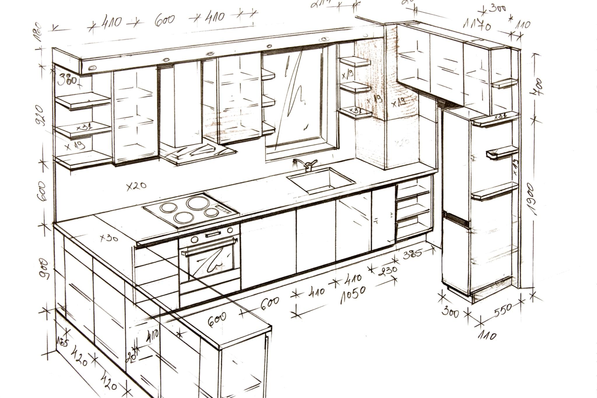 Standard Size Of Modular Kitchen Cabinet   Novocom.top