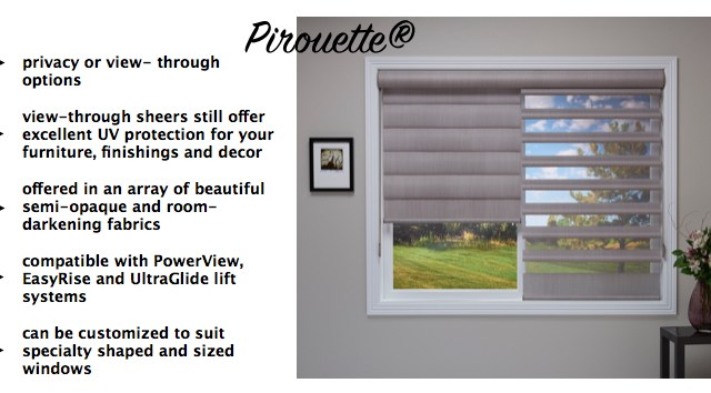 Get to Know Hunter Douglas: Pirouette