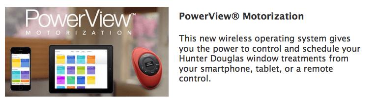 PowerView Motorization