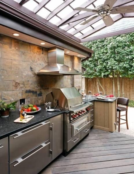 outdoor patio kitchen design idea 20+ Modern Outdoor Kitchen Ideas