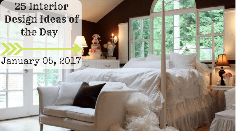 25 Interior Design Ideas Of The Day   January 05, 2017