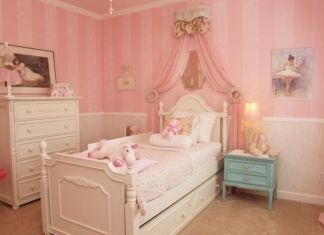 French Style Bedroom For Women In Classic Style