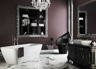 Gothic Bathroom Designs