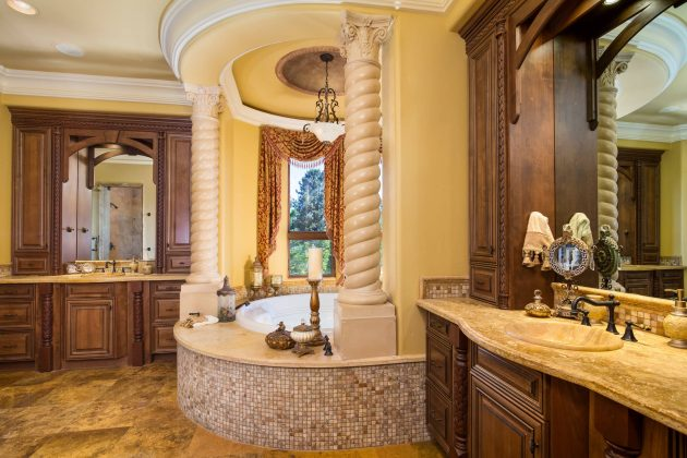 Mediterranean Bathroom Designs