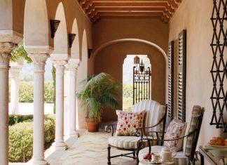 Mediterranean Porch Designs