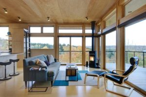 Prettiest Living Room Designs With Glass Walls You Have Ever Seen