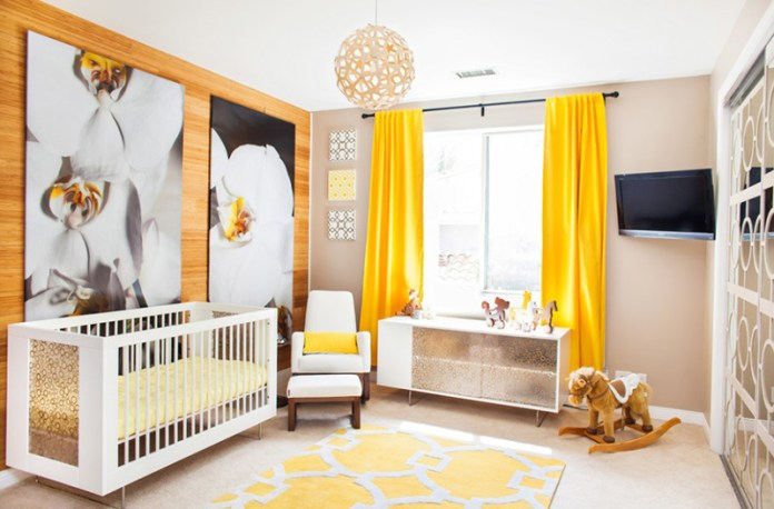 Gorgeous Painting Ideas For the Nursery Room Of Your Little Ones