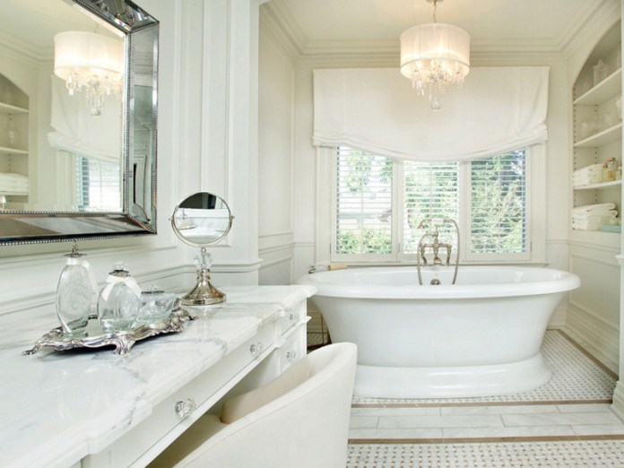 Traditional Bathroom Chandeliers stunning ideas to design your bathroom with chandeliers