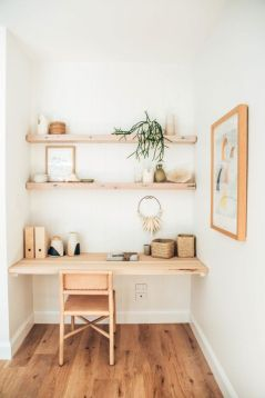 A Rustic Corner Office Nook - Blog.sweeten.com