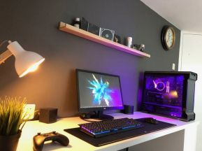 AMD Ryzen Battlestation ☼ Via Imgur #Ps4 Gaming Setup #Dream Rooms #Gaming Setup Xbox