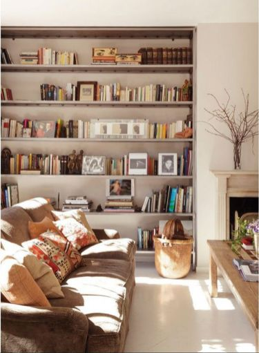 Affordable Interior European Style Ideas ⊶ Via Homedecorpress #DreamLibrary