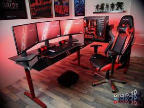 Amazing PC Setup Gamerroomdiy ☼ Via Diygamerr.maxpw #Gaming Room Setup #Quarto Gamer #Playstation Room #xbox Room